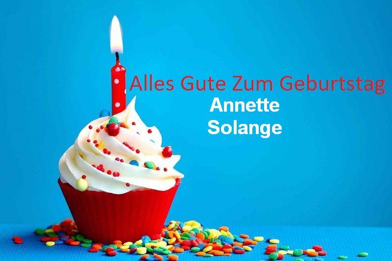 Alles Gute Zum Geburtstag Annette Solange bilder - Alles Gute Zum Geburtstag Annette Solange bilder