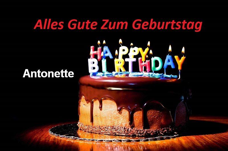 Alles Gute Zum Geburtstag Antonette bilder - Alles Gute Zum Geburtstag Antonette bilder