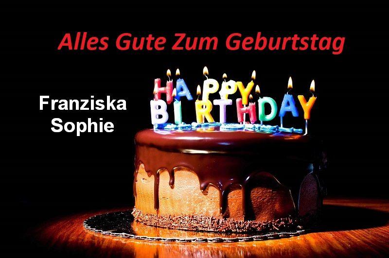 Alles Gute Zum Geburtstag Franziska Sophie bilder - Alles Gute Zum Geburtstag Franziska Sophie bilder