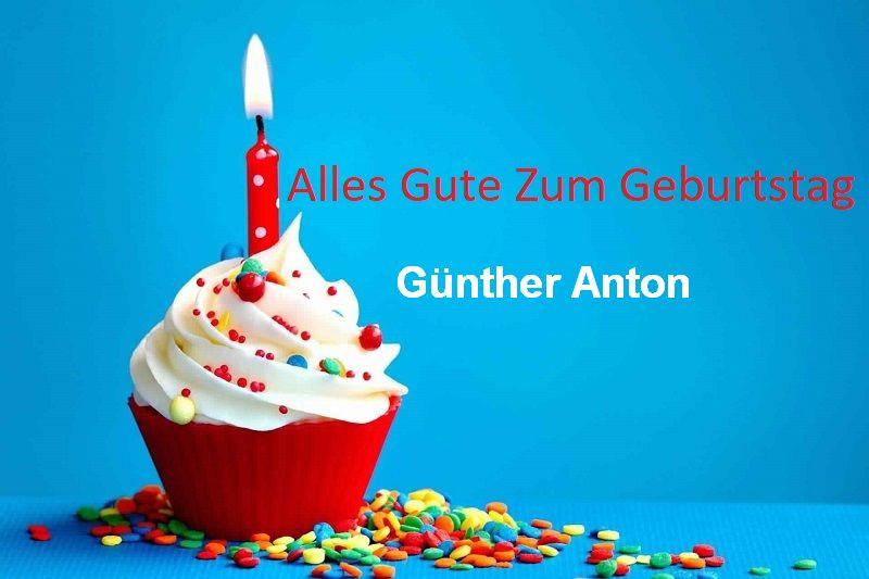 Alles Gute Zum Geburtstag Günther Anton bilder - Alles Gute Zum Geburtstag Günther Anton bilder