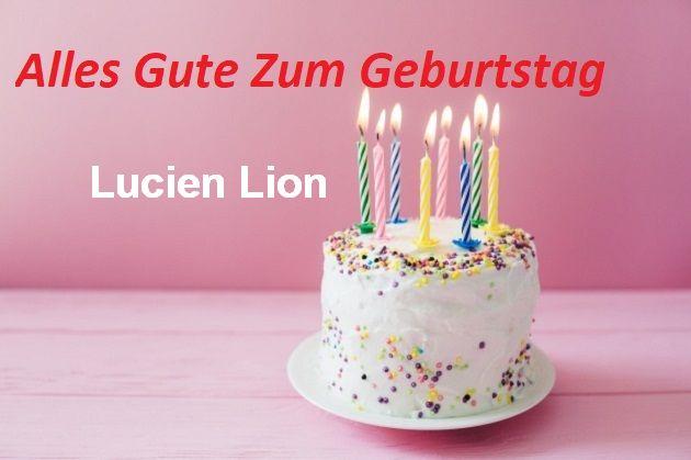 Alles Gute Zum Geburtstag Lucien Lion bilder - Alles Gute Zum Geburtstag Lucien Lion bilder