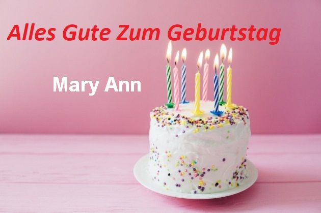 Alles Gute Zum Geburtstag Mary Ann bilder - Alles Gute Zum Geburtstag Mary Ann bilder
