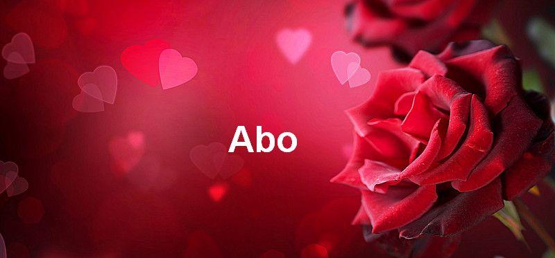 Bilder mit namen Abo - Bilder mit namen Abo