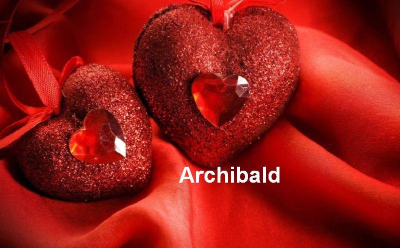 Bilder mit namen Archibald - Bilder mit namen Archibald