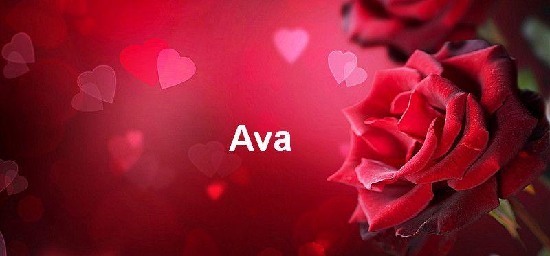 Bilder mit namen Ava - Bilder mit namen Ava