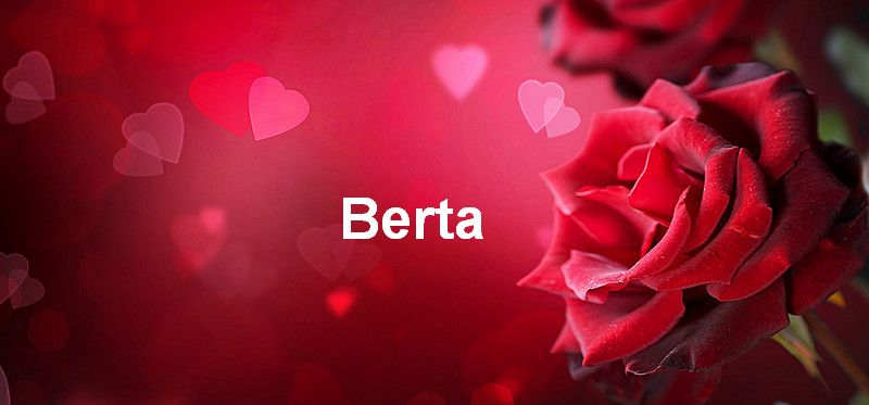Bilder mit namen Berta - Bilder mit namen Berta