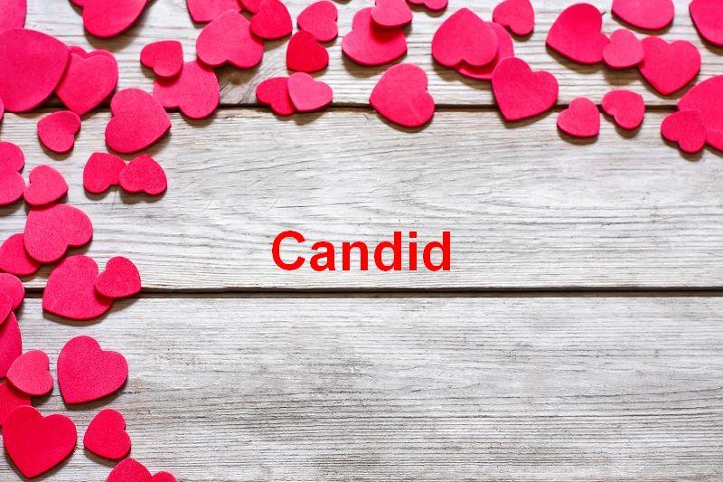 Bilder mit namen Candid - Bilder mit namen Candid