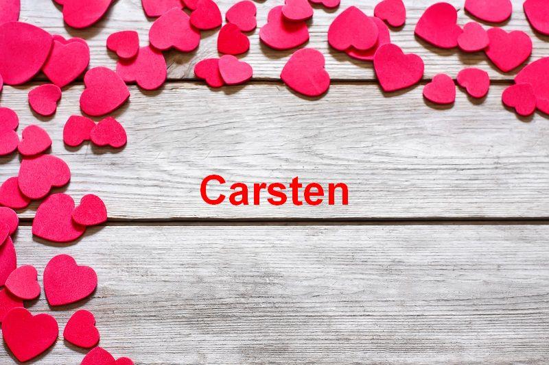 Bilder mit namen Carsten - Bilder mit namen Carsten