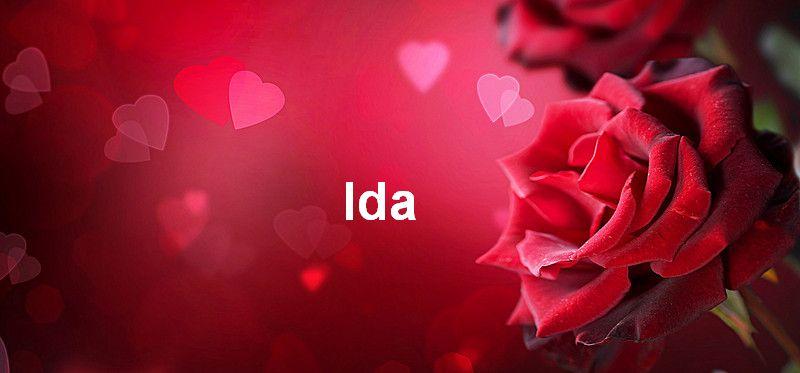 Bilder mit namen Ida - Bilder mit namen Ida