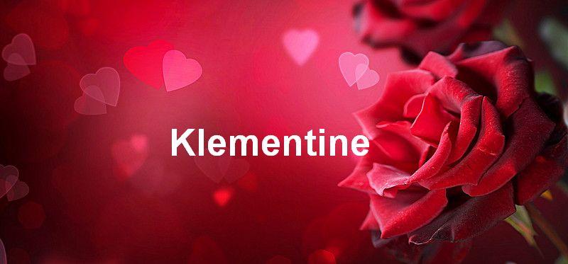 Bilder mit namen Klementine - Bilder mit namen Klementine