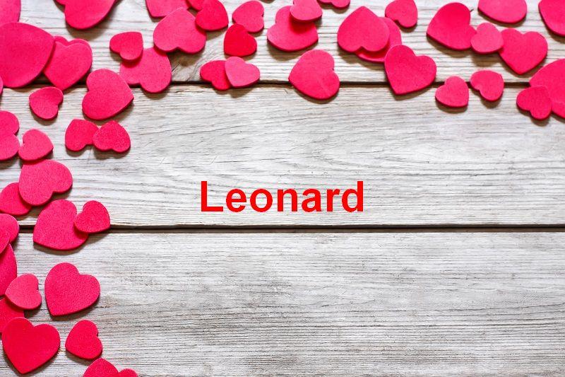 Bilder mit namen Leonard - Bilder mit namen Leonard