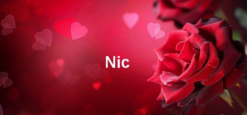Bilder mit namen Nic - Bilder mit namen Nic