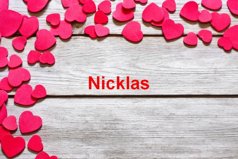 Bilder mit namen Nicklas - Bilder mit namen Nicklas