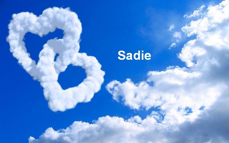 Bilder mit namen Sadie - Bilder mit namen Sadie