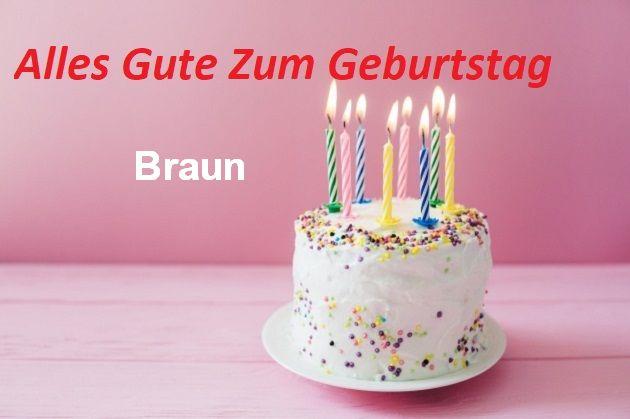 Geburtstagswünsche für Braunbilder - Geburtstagswünsche für Braun