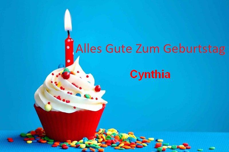 Geburtstagswünsche für Cynthia bilder - Geburtstagswünsche für Cynthiabilder