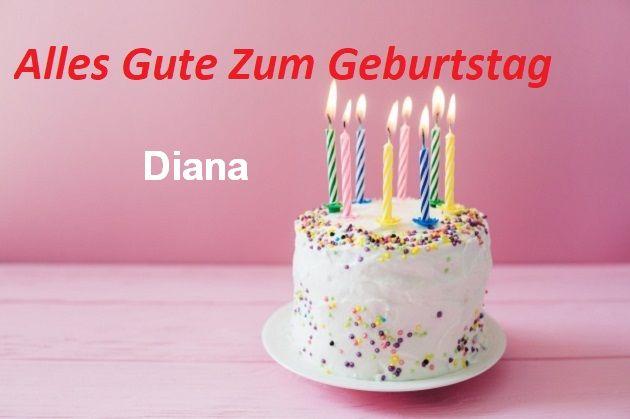 Geburtstagswünsche für Dianabilder - Geburtstagswünsche für Diana