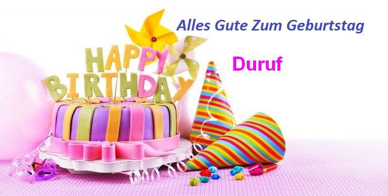 Geburtstagswünsche für Durufbilder - Geburtstagswünsche für Duruf