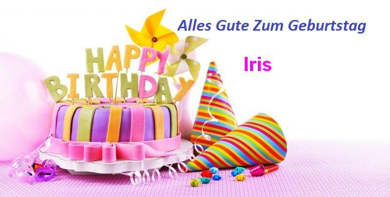 Geburtstagswünsche für Irisbilder - Geburtstagswünsche für Iris