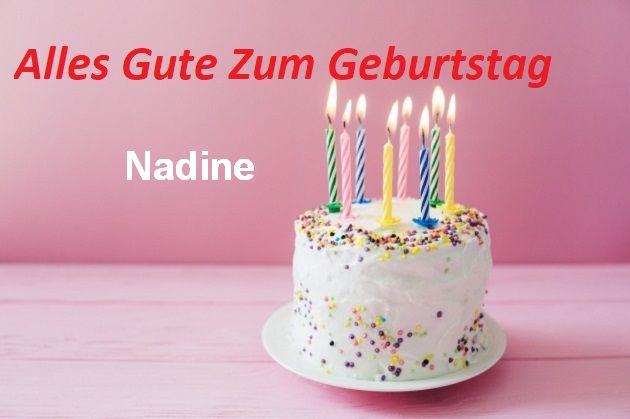 Geburtstagswünsche für Nadinebilder - Geburtstagswünsche für Nadine bilder