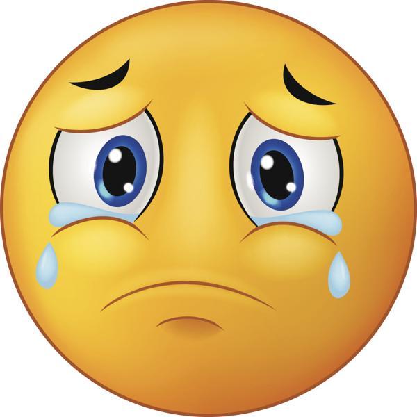 weinender trauriger Smiley bedeutung