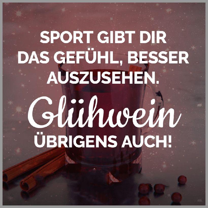 Advent sport gibt dir das gefuehl besser auszusehen gluehwein uebrigens auch - Advent sport gibt dir das gefuehl besser auszusehen gluehwein uebrigens auch
