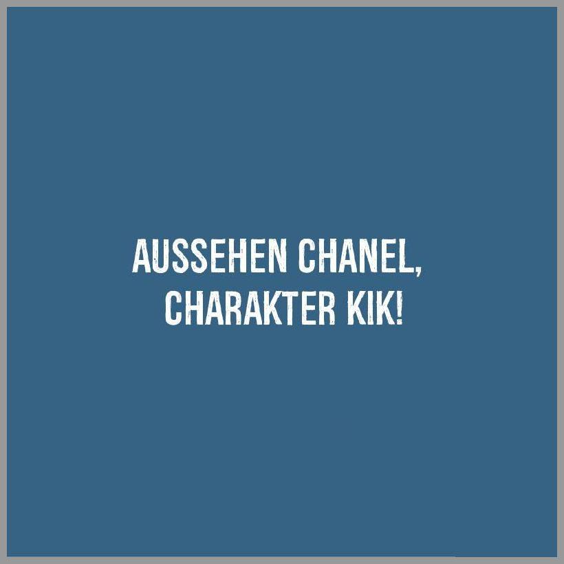 Aussehen chanel charakter kik - Aussehen chanel charakter kik