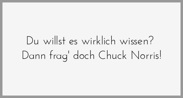 Du willst es wirklich wissen dann frag doch chuck norris - Du willst es wirklich wissen dann frag doch chuck norris
