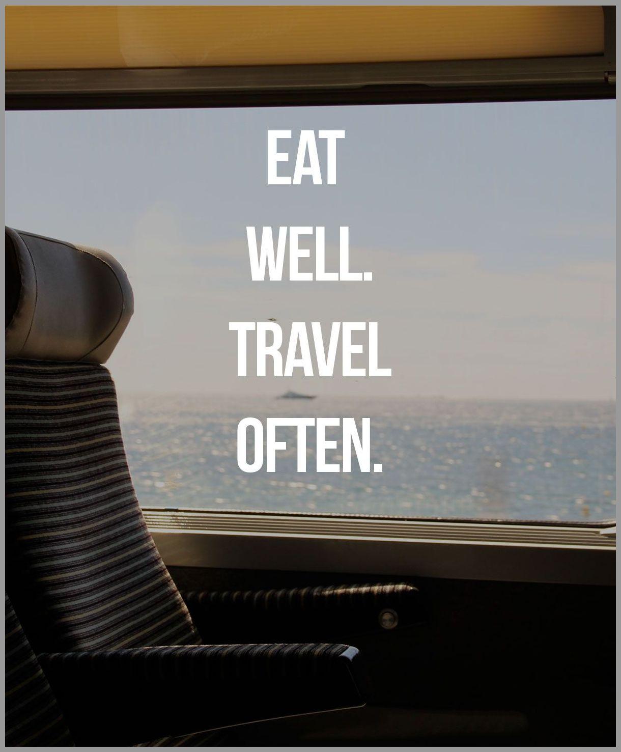 Eat well travel often - Eat well travel often