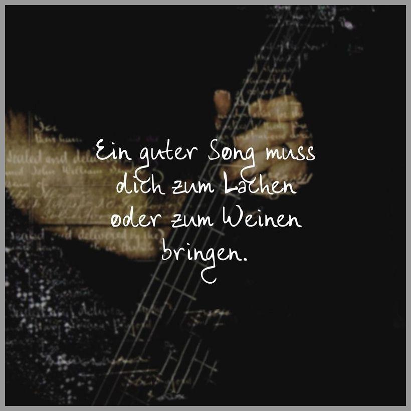 Ein guter song muss dich zum lachen oder zum weinen bringen - Ein guter song muss dich zum lachen oder zum weinen bringen