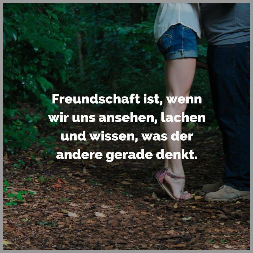Freundschaft ist wenn wir uns ansehen lachen und wissen was der andere gerade denkt - Freundschaft ist wenn wir uns ansehen lachen und wissen was der andere gerade denkt