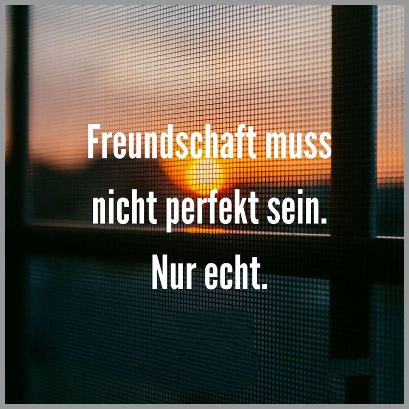 Freundschaft muss nicht perfekt sein nur echt - Freundschaft muss nicht perfekt sein nur echt