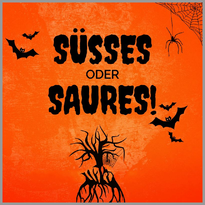 Halloween suesses oder saures - Halloween suesses oder saures