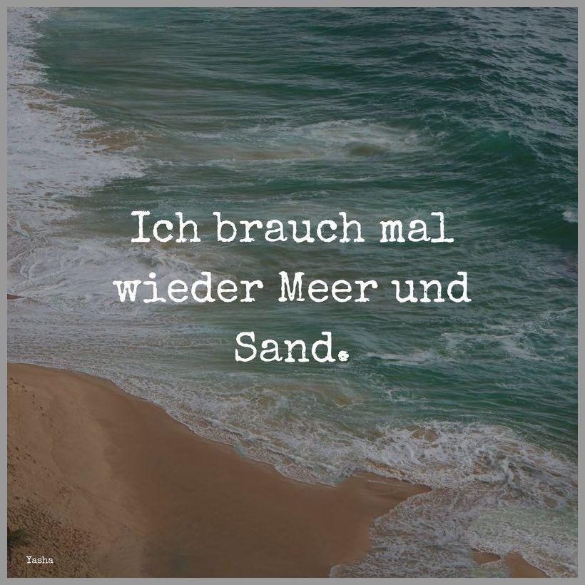 Ich brauch mal wieder meer und sand - Ich brauch mal wieder meer und sand
