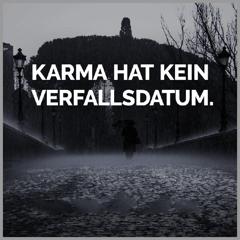 Karma hat kein verfallsdatum - Karma hat kein verfallsdatum
