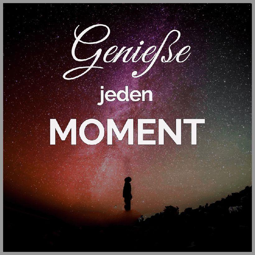 Leben geniesse jeden moment - Leben geniesse jeden moment