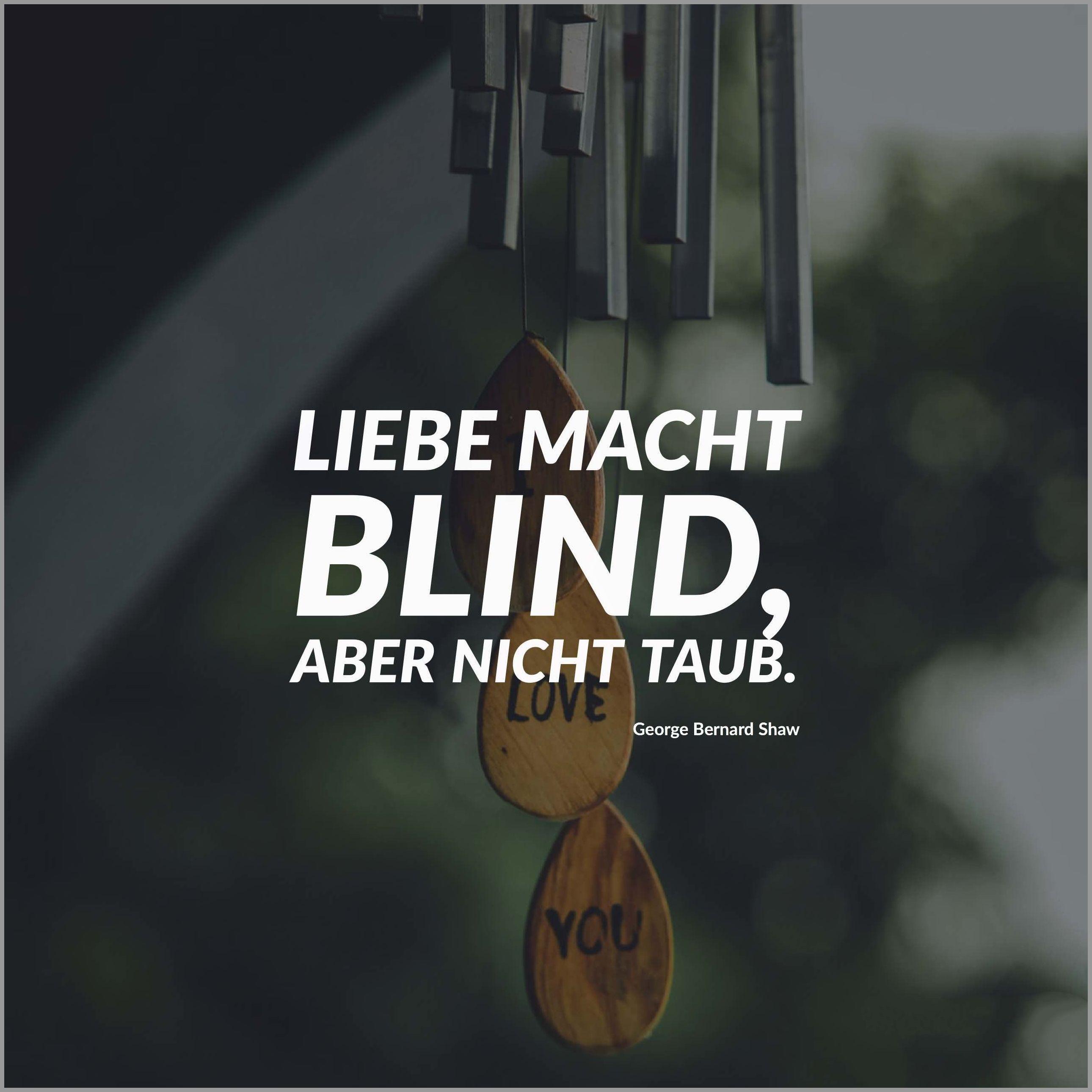 Liebe macht blind aber nicht taub - Liebe macht blind aber nicht taub