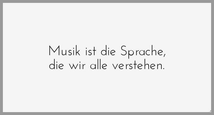 Musik ist die sprache die wir alle verstehen - Musik ist die sprache die wir alle verstehen