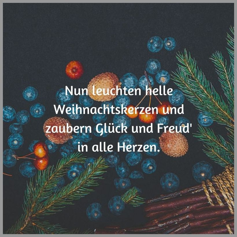Nun leuchten helle weihnachtskerzen und zaubern glueck und freud in alle herzen - Nun leuchten helle weihnachtskerzen und zaubern glueck und freud in alle herzen