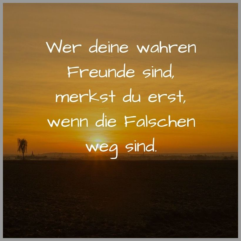 Wer deine wahren freunde sind merkst du erst wenn die falschen weg sind - Wer deine wahren freunde sind merkst du erst wenn die falschen weg sind