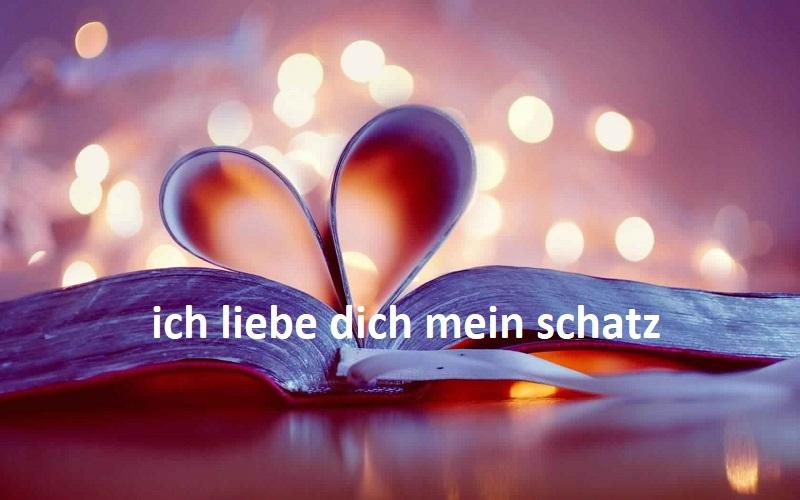 Ich Liebe Dich Mein Schatz Bilder 2 Bilder Und Spruche Fur