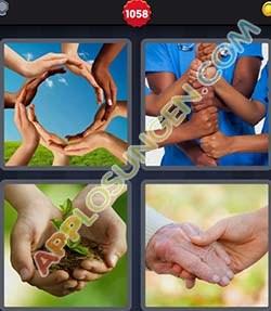 4 bilder 1 wort level 1058 lösung HANDE - 4 bilder 1 wort level 1058 lösung HANDE