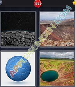4 bilder 1 wort level 1075 lösung KRATER - 4 bilder 1 wort level 1075 lösung KRATER
