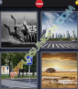 4 bilder 1 wort level 1094 lösung ZEBRA - 4 bilder 1 wort level 1094 lösung ZEBRA