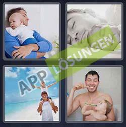4 bilder 1 wort level 110 lösung VATER - 4 bilder 1 wort level 110 lösung VATER