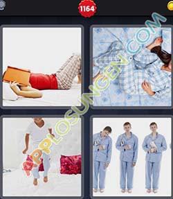 4 bilder 1 wort level 1164 lösung PYJAMA - 4 bilder 1 wort level 1164 lösung PYJAMA