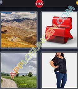 4 bilder 1 wort level 1165 lösung KURVIG - 4 bilder 1 wort level 1165 lösung KURVIG