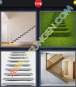 4 bilder 1 wort level 1178 lösung TREPPE - 4 bilder 1 wort level 1178 lösung TREPPE