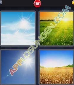 4 bilder 1 wort level 1181 lösung SONNE - 4 bilder 1 wort level 1181 lösung SONNE