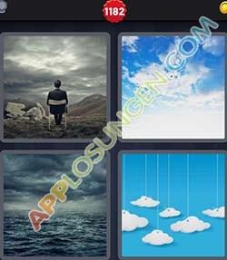 4 bilder 1 wort level 1182 lösung WOLKIG - 4 bilder 1 wort level 1182 lösung WOLKIG